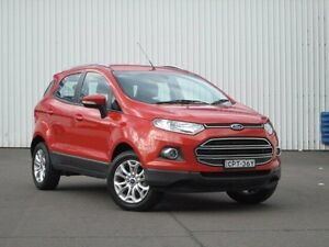 2013 Ford Ecosport BK Titanium PwrShift Red 6 Speed Sports Automatic Dual Clutch Wagon Kings Park Blacktown Area Preview
