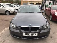 2007 BMW 3 Series 2.0 320d SE 4dr, AUTOMATIC, NAVIGATION, I-DRIVE, FULL LEATHER SEATS