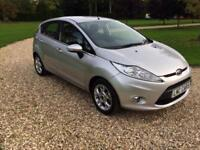 2012 Ford Fiesta 1.25 ( 82ps ) Zetec only 5000 miles immaculate condition