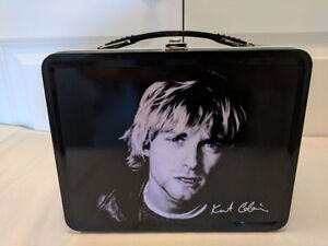 Nirvana Kirk Cobain Lunchbox with Thermos