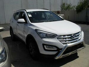 2015 Hyundai Santa Fe DM MY15 Active CRDi (4x4) White 6 Speed Automatic Wagon Moorabbin Kingston Area Preview