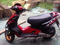Kymco super 9 moped