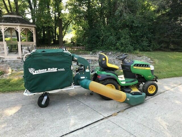 Cyclone Rake Commander Pro Leaf and Lawn Vacuum