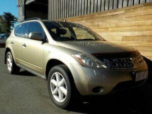 2006 Nissan Murano Z50 TI Gold 6 Speed Constant Variable Wagon Labrador Gold Coast City Preview