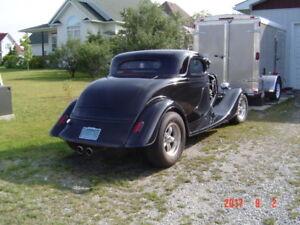 1933 ford 3 window coupe kit car fiberglass