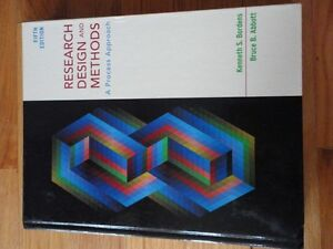 Research Design and Methods 5th edition Bordens and Abbott London Ontario image 1