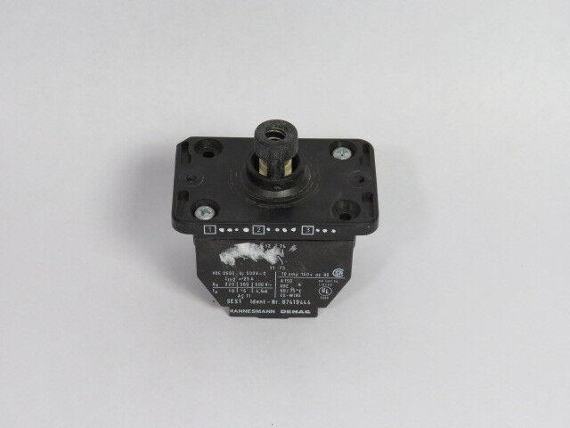 Demag 87419444 Contact Block 10 Amp 150 Volt  USED