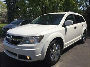 2010 DODGE JOURNEY R/T AWD + 7 PASSAGERS + CUIR + NAVIGATION