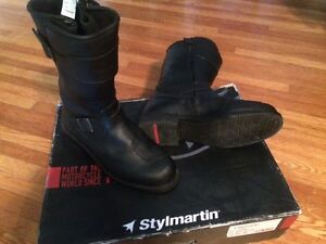 """Vintage style motorcycle boots - Stylmartin """"Legend"""""""
