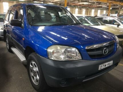 2002 Mazda Tribute Limited Blue Automatic Wagon