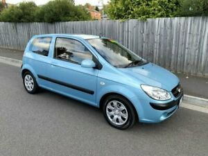 2009 Hyundai Getz TB MY09 SX Light Blue 4 Speed Automatic Hatchback North Hobart Hobart City Preview