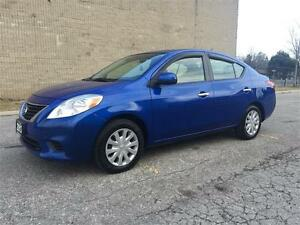 2012 Nissan Versa SV/1.6L SUPER Gas Saver/Certified