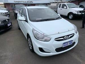 2013 Hyundai Accent ACTIVE Automatic Hatchback Mira Mar Albany Area Preview