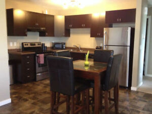 Semi furnished Condo in HarbourLanding inc utilities, cable, int
