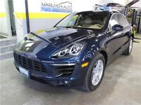 2015 Porsche Macan S ACCIDENT FREE LOW MILEAGE NAVI CAMERA
