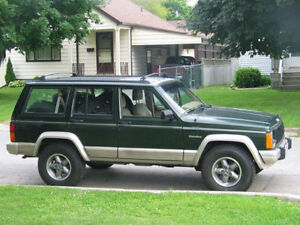 1996 Jeep Cherokee from Southern USA / Rebuilt Motor, Certified