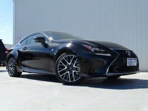 2015 Lexus RC GSC10R RC350 F Sport Black 8 Speed Sports Automatic Coupe