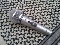 Shure 588SA Microphone, Vintage 1970's, Antique, On/Off Switch