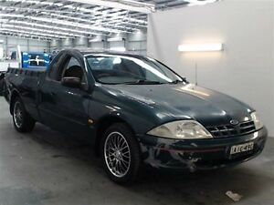 2000 Ford Falcon AU XL Green 5 Speed Manual Utility Beresfield Newcastle Area Preview