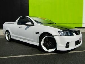 2012 Holden Commodore VE II MY12 SV6 Thunder White 6 Speed Manual Utility Underwood Logan Area Preview