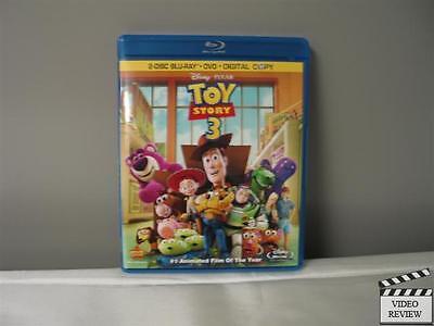 Toy Story 3 (Blu-ray Disc, 2010, 2-Disc Set) Tom Hanks Tim Allen Pixar