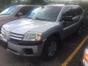 2004 MITSUBISHI ENDEAVOR AWD/LOW LOW KMS ONLY 105K/ALLOYS!!