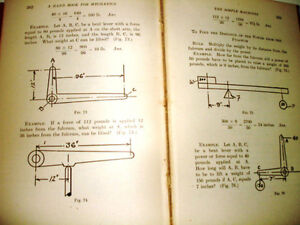 1912 The PRACTICAL MECHANICS HANDBOOK Franklin E Smith CONSTABLE Kitchener / Waterloo Kitchener Area image 4