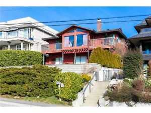 Beautiful Ocean View home for Rent in White Rock!