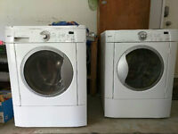 Kenmore front load stacking dryer & semi-working washer