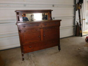 Antique Side Board (Buffet)