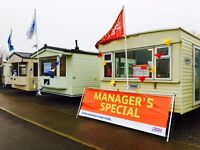Over 50 Static Caravans For Sale at Withernsea Sands Holiday Park from £11926 inc 2017 Site Fees