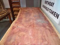 Large cider plank. table.worktop