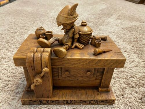 "Disney Pinocchio ""Geppetto"