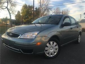 2005 Ford Focus SE ZX4 159K AUTOMATIC = ONE OWNER = NO ACCIDENTS