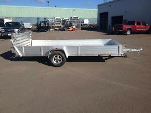 "New 2017 Aluma 81"" x 14' Aluminum Trailer"
