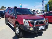2007 Holden Rodeo RA MY07 LTZ Crew Cab Red 4 Speed Automatic Utility St James Victoria Park Area Preview