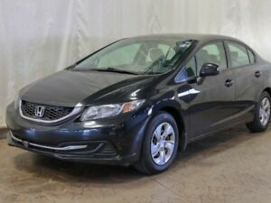 2013 Honda Civic Sdn LX Sedan Automatic w/ Extended Warranty