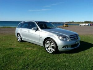 2009 Mercedes-Benz C200 W204 Kompressor Avantgarde Silver 5 Speed Auto Tipshift Wagon Fairy Meadow Wollongong Area Preview