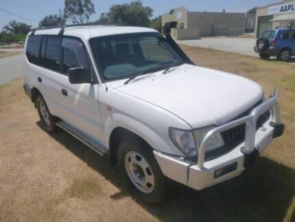 2002 Toyota LandCruiser SUV ** FREE 1 YEAR WARRANTY ** 7 SEATER !