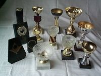 Selection of 29 ex-Ten Pin Bowling Trophies