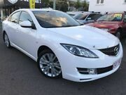 2008 Mazda 6 GH1051 Classic White 5 Speed Sports Automatic Sedan Coorparoo Brisbane South East Preview