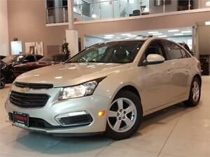 2015 Chevrolet Cruze 2LT-AUTO-LEATHER-ROOF-CAMERA-REMOTE START-O