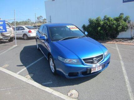 2003 Honda Accord Euro CL Blue 5 Speed Automatic Sedan