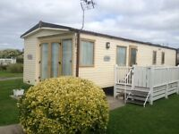 ABI ST DAVID 38x12 3 bed on T alacre Beach in north wales 5 * park
