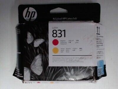 HP 831 (CZ678A) Magenta and Yellow Latex Printhead