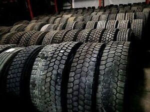 11R22.5 & more Quality Used Truck Tires Wholesale