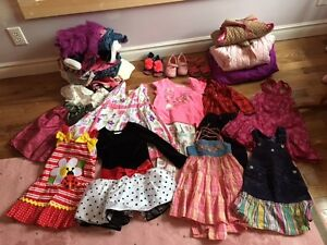 Large lot of beautiful 3T girl clothes