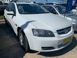2009 Holden Commodore VE MY09.5 Omega Sportwagon White 4 Speed Automatic Wagon Wickham Newcastle Area Preview