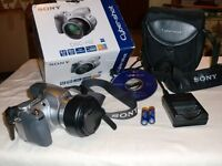 Sony Cybershot, Digital Still Camera DSC-H2 with case plus other accessories (see list)