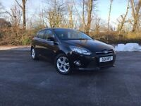2011 FORD FOCUS 1.6 ZETEC (NEW MODEL) BLACK STUNNING CAR MUST SEE 87,000 MILES £4750 OLDMELDRUM
